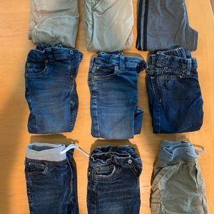 Boys 2T pants bundle